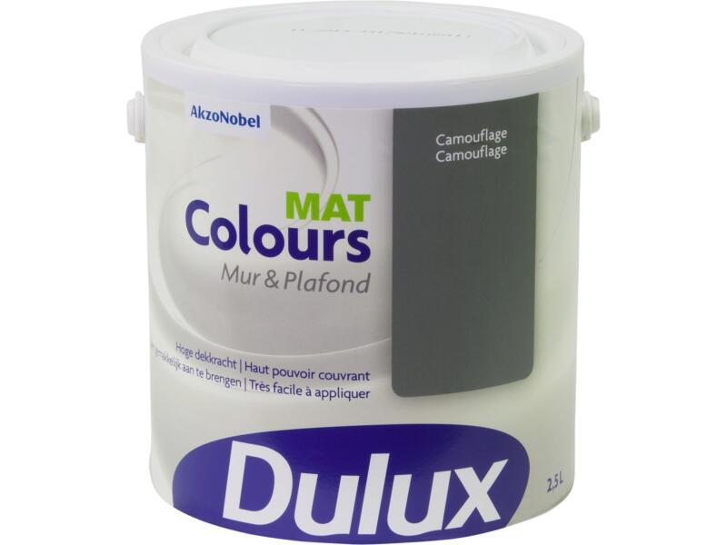 Dulux Colours muur- en plafondverf mat 2,5l camouflage