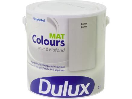 Dulux Colours muur- en plafondverf mat 2,5l lama