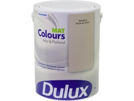 Dulux Colours muur- en plafondverf mat 5l zandduin