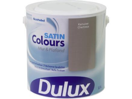 Dulux Colours muur- en plafondverf zijdeglans 2,5l kartuizer