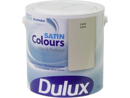 Dulux Colours muur- en plafondverf zijdeglans 2,5l lama
