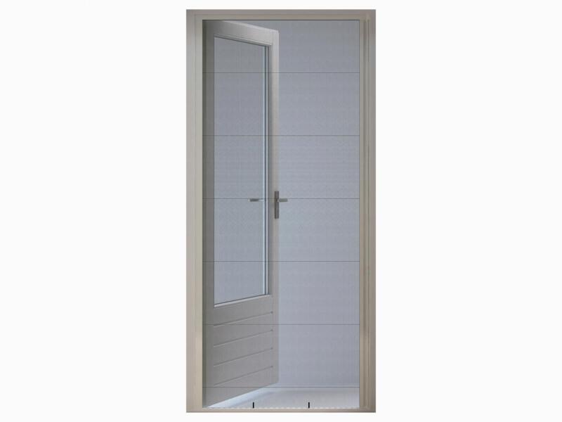 CanDo Comfort porte moustiquaire plissée 100x209 cm blanc