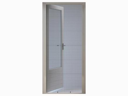CanDo Comfort porte moustiquaire plissée 100x229 cm blanc