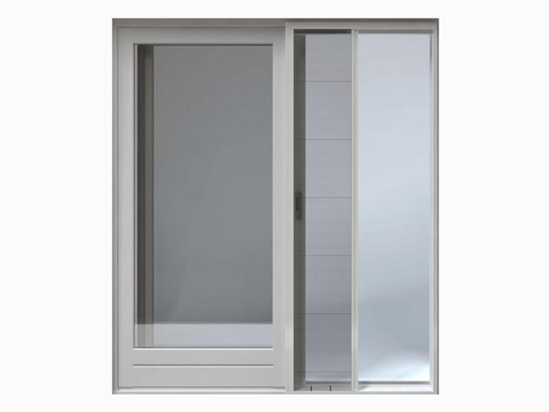 CanDo Comfort porte moustiquaire plissée 150x240 cm blanc