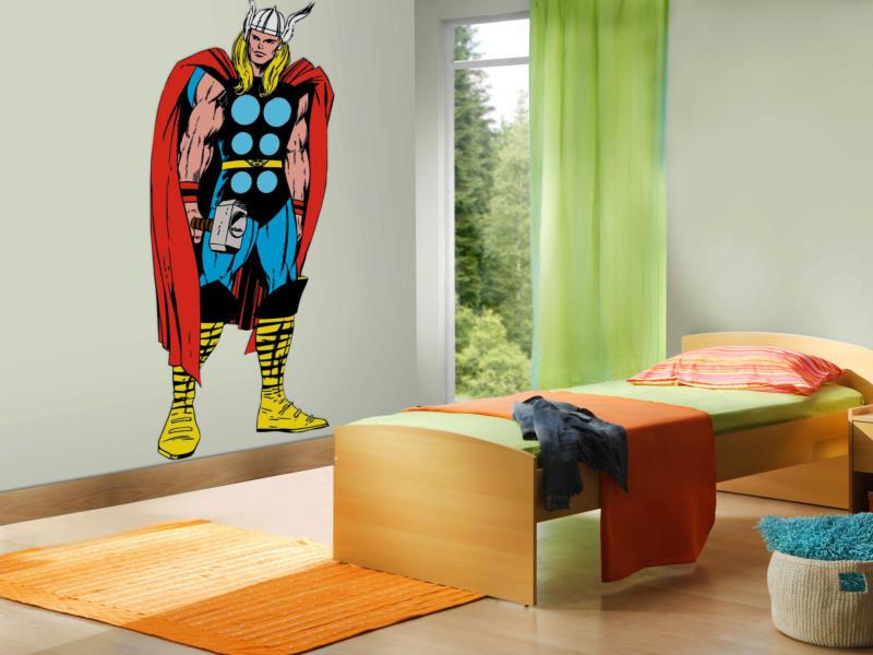 Comics Thor maxi muursticker 148x60 cm
