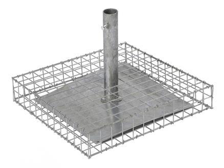 Giardino Como parasolvoet staal grijs