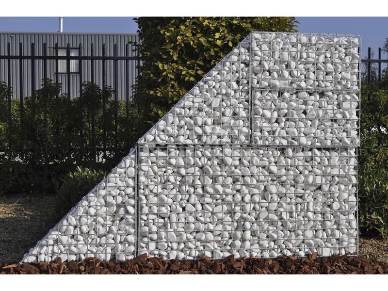 Giardino Como steenkorf 60x180x30 cm met 220 krammen