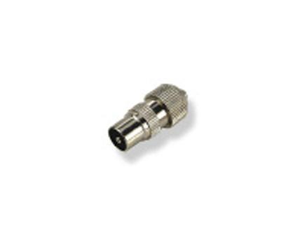 Profile Connector SAT/TV M metaal 2 stuks