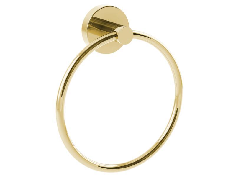 Allibert Coperblink anneau porte-serviette or brillant