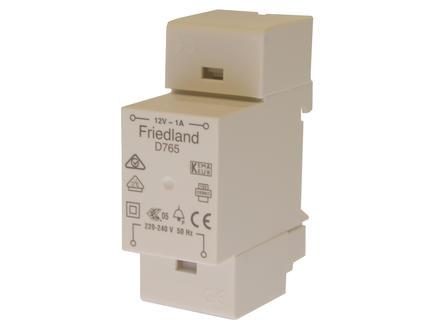 D765 transformateur pour sonnette modulaire gris