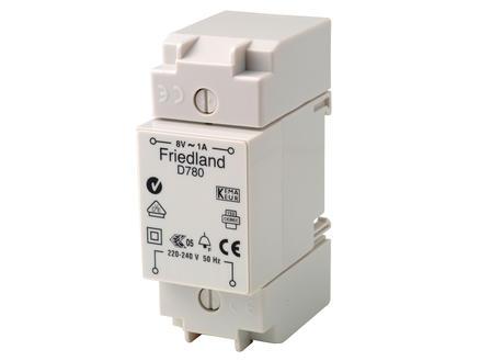 D780 transformateur pour sonnette modulaire gris