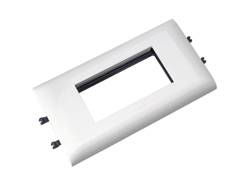 Legrand DLP opklikbare dubbele houder 85mm