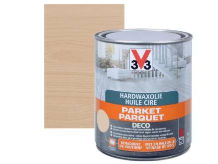 V33 Deco huile cire parquet mat 2,5l blanc