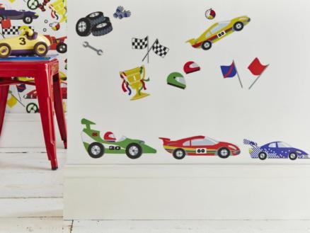 Decofun sticker mural arrêt au stand