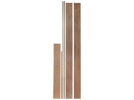 Jewe Deurkassement 18x145 mm 213cm hardhout