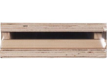 Deurkassement hardhout 15x170 mm 213cm