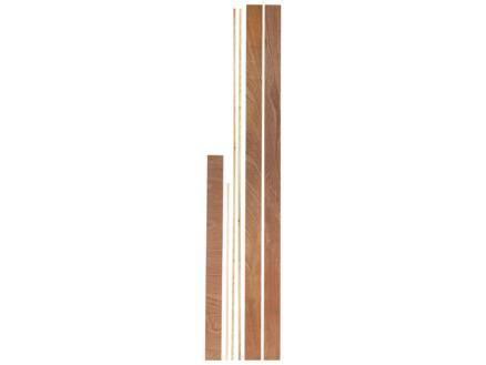 Jewe Deurkassement hardhout 15x95 mm 213cm