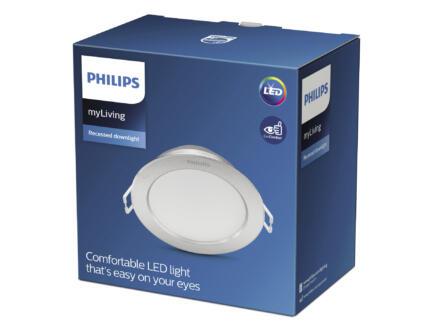 Philips Diamond spot LED encastrable 3,5W argent