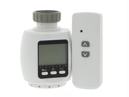 Profile Digitale radiatorkraan Qnect RF met afstandsbediening