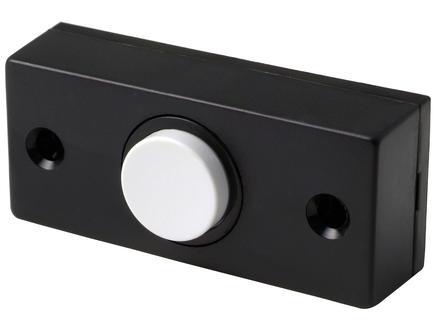 Dimex bouton poussoir sonnette noir