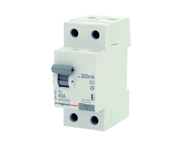 Disjoncteur différentiel 40A 2P 300mA