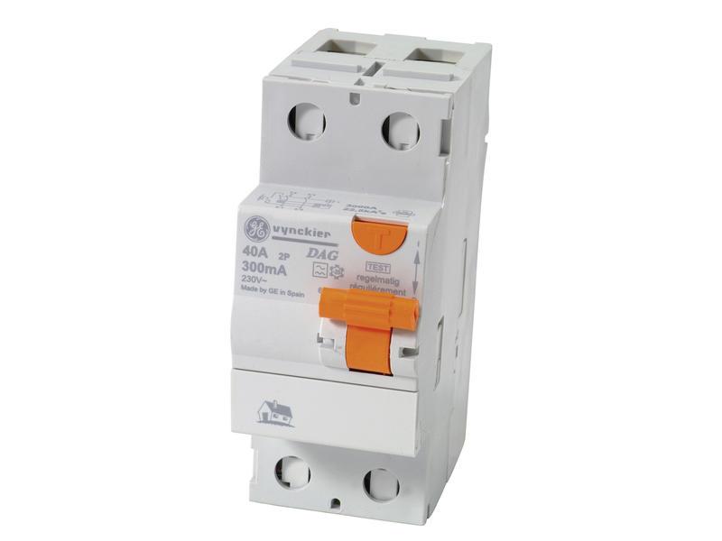 Vynckier Disjoncteur différentiel 40A 2P 300mA