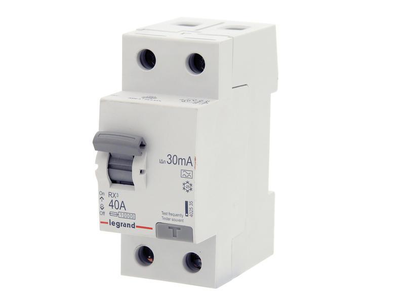 Legrand Disjoncteur différentiel 40A 2P 30mA