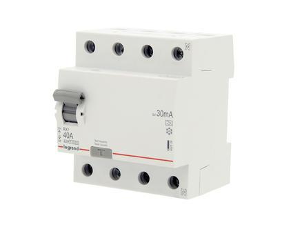 Legrand Disjoncteur différentiel 40A 4P 30mA