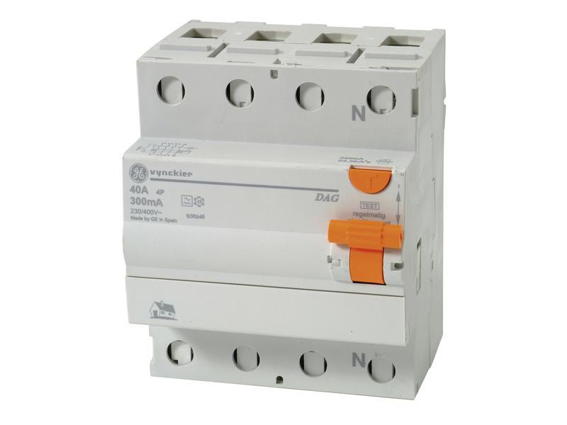 Vynckier Disjoncteur différentiel Diff-o-jump 40A 4P 300mA