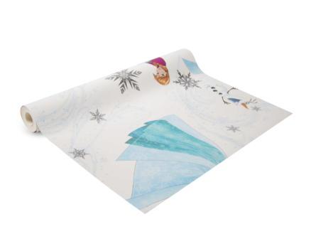 Disney Disney Frozen papier peint papier Anna, Elsa & Olaf multicolour/blanc