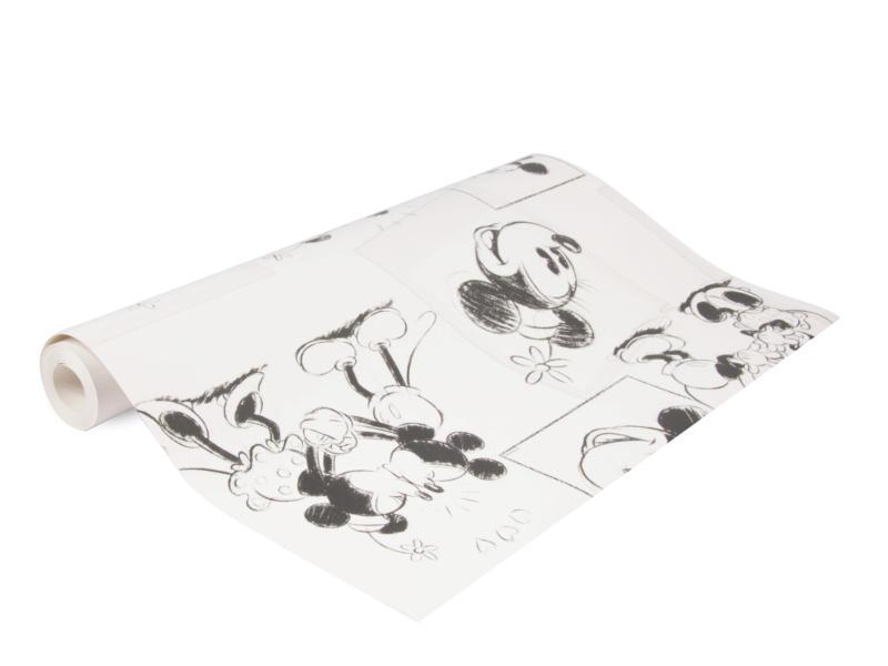 Disney Disney papierbehang Mickey & Minnie sketch