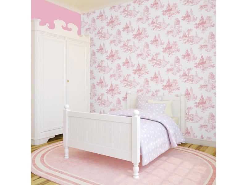 Disney Disney papierbehang Princess toile roze