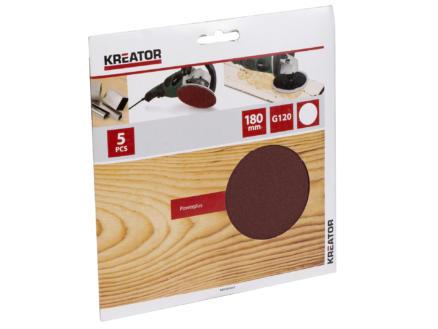 Kreator Disque abrasif G120 180mm KRT231557