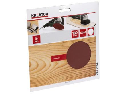 Kreator Disque abrasif G240 180mm KRT231559