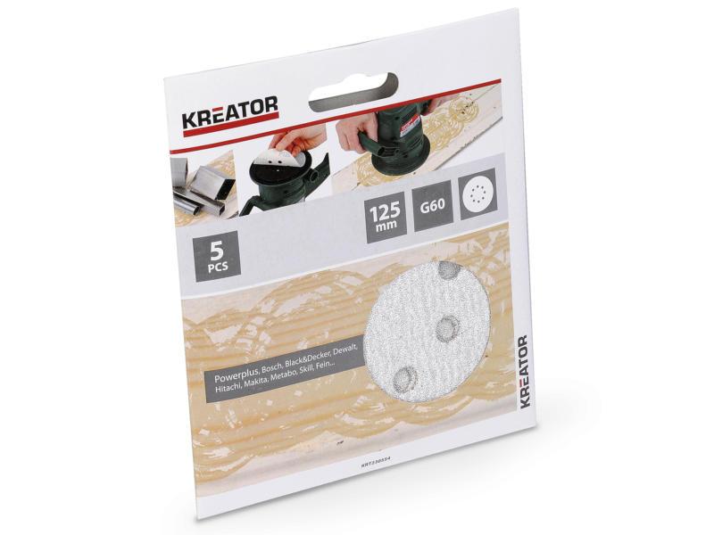 Kreator Disque abrasif G60 125mm peinture KRT230554