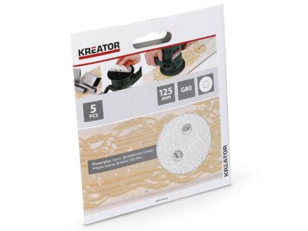 Kreator Disque abrasif G80 125mm peinture KRT230555
