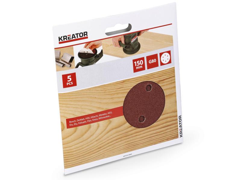 Kreator Disque abrasif G80 150mm KRT231005