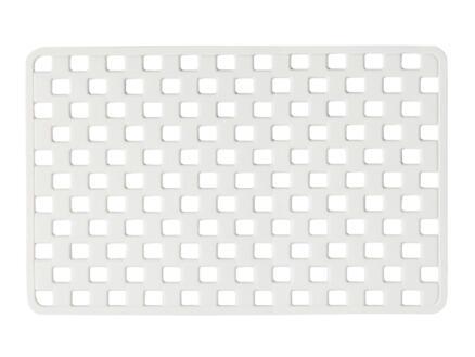 Sealskin Doby tapis de bain antidérapant 75x38 blanc