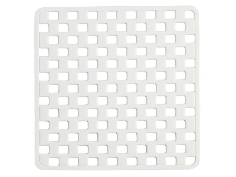 Sealskin Doby tapis de douche antidérapant 50x50 cm blanc