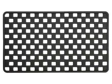 Sealskin Doby tapis de douche antidérapant 75x38 cm noir
