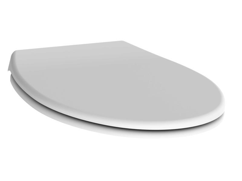 Allibert Dolceo abattant WC blanc mat