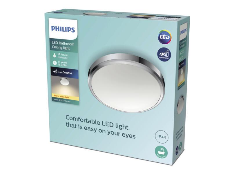 Philips Doris applique pour mur ou plafond LED 17W chrome