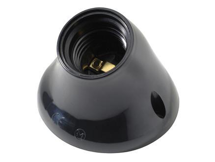 Profile Douille inclinée E27 75W noir