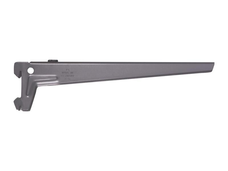 Drager enkel links-rechts clip 28cm aluminium