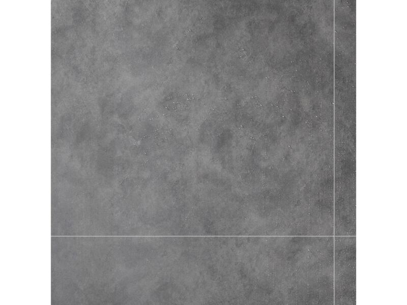 Dumawall+ panneau mural 65x37,5 cm 1,95m² gris foncé