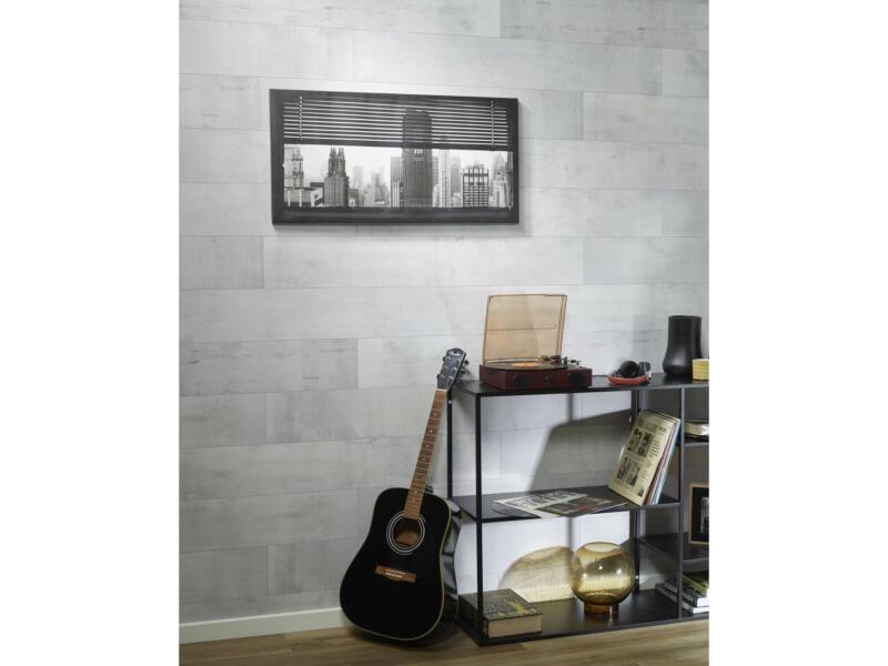 Dumaplast Dumawood panneau mur et plafond 120x16,7 cm 2m² cottage barn blanc 10 pièces