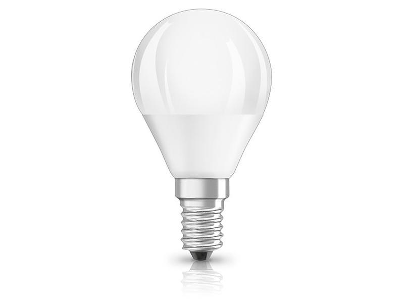 Osram Duo Click Classic P40 LED peerlamp E14 5,5W dimbaar