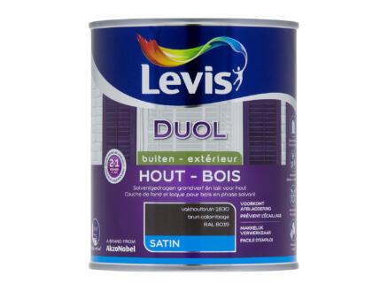 Levis Duol laque bois satin 0,75l brun colombage