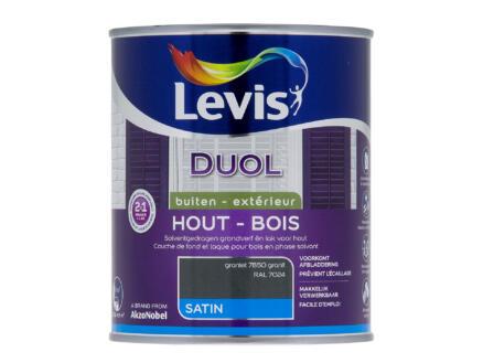 Levis Duol laque bois satin 0,75l granit