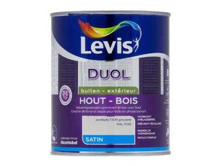 Levis Duol laque bois satin 0,75l gris perle